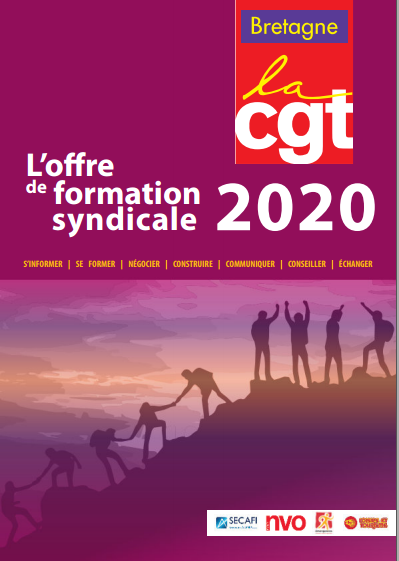 CGT Bretagne Offre formation syndicale 2020 web
